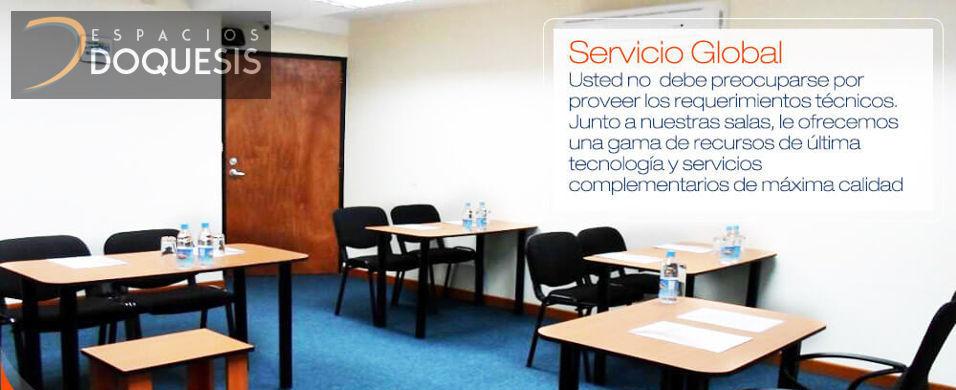 Ofrecemos salas para 12, 20 hasta 50 personas comodamente instaladas