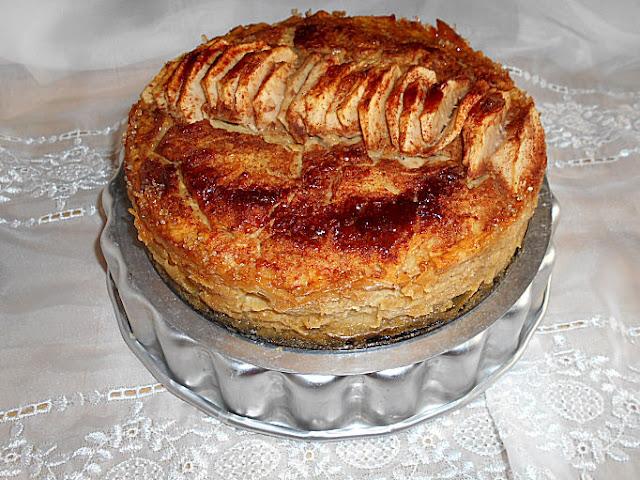 bolo maçã e canela