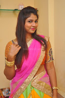 Lucky Sree in dasling Pink Saree and Orange Choli DSC 0327 1600x1063.JPG