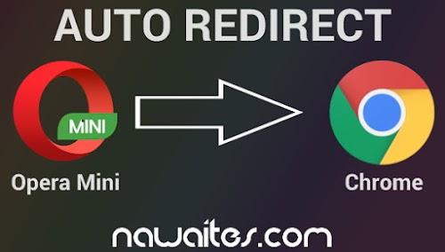 Pasang Script Anti Opera Mini Auto Redirect Ke Chrome