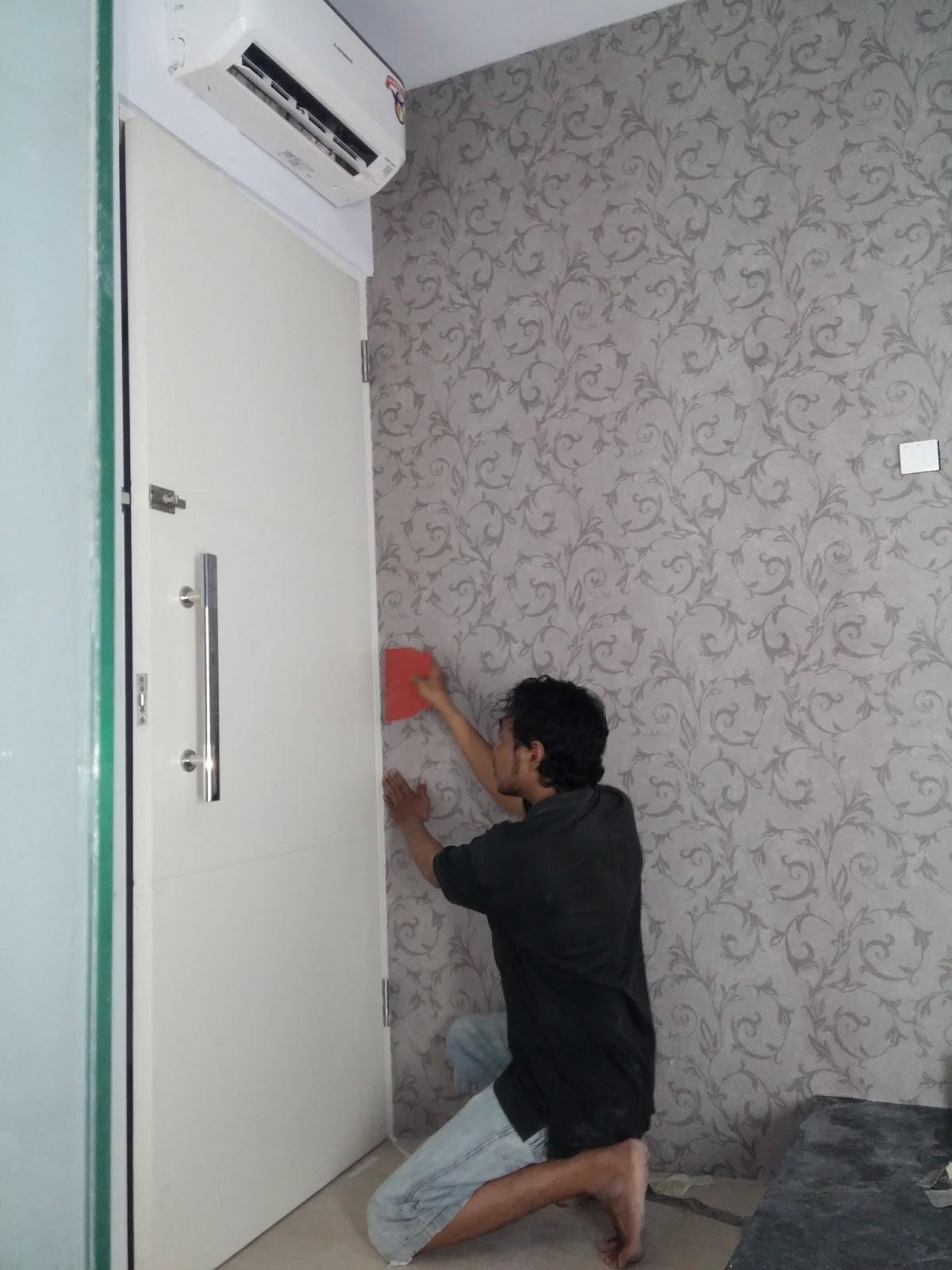 Jasa Tukang Pasang Wallpaper Surabaya Tukang Pasang Wallpaper Surabaya