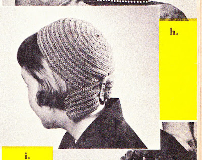 The Vintage Pattern Files: Free 1950s Crochet Pattern - Streamer Hat