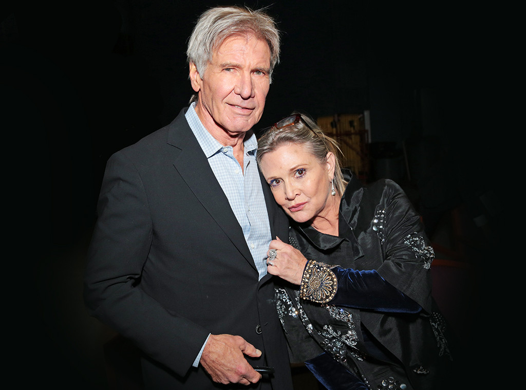 Carrie Fisher Was One Of A Kind Says Harrison Ford