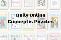 Daily Online Conceptis Puzzles