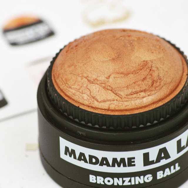 Lovelaughslipstick blog - Madame LA LA Bronzing Ball Cream Bronzer Makeup Review