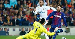 موعد مباراة Barcelona vs Real Madrid برشلونة وريال مدريد اليوم الاربعاء 06-02-2019 في مباراة نصف نهائي كاس ملك اسبانيا