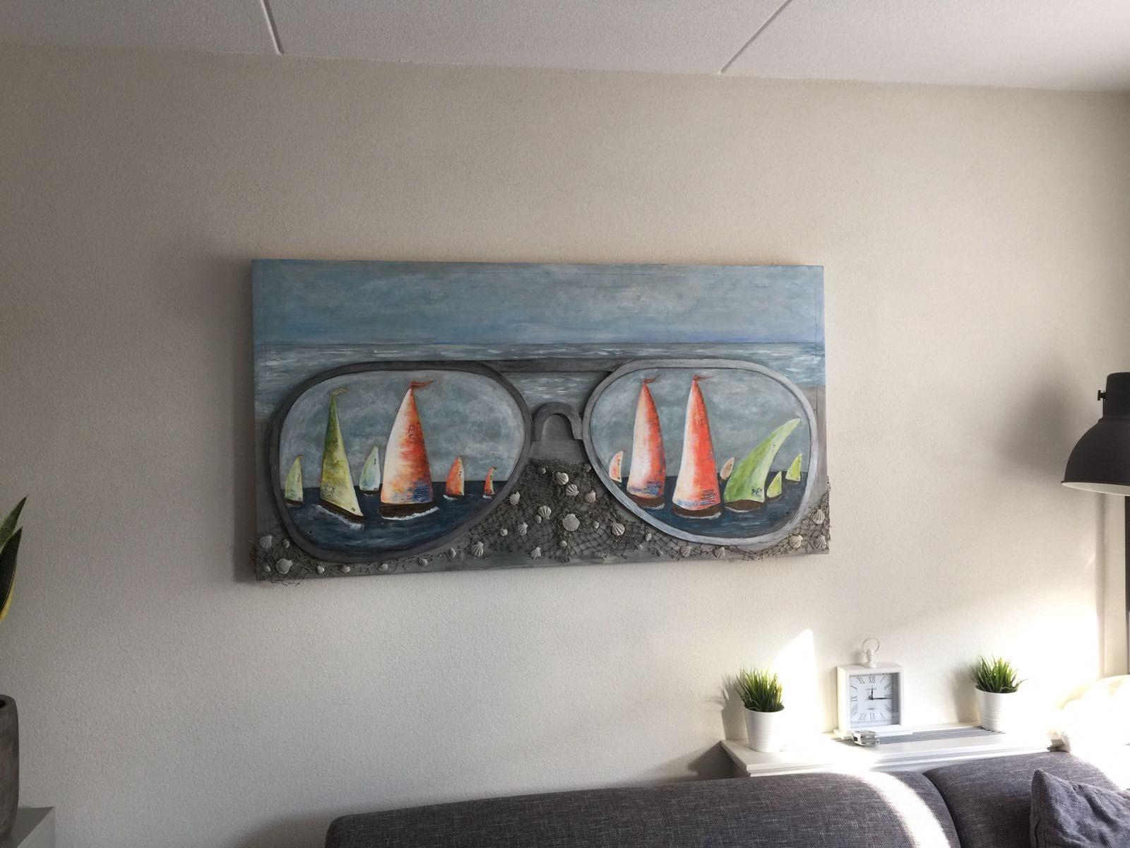 Creaties van daatje aquarel voor mijn werk - Kleur schilderij ingang ...