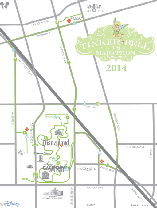 Tinker Bell Half Marathon Course Map | My No-Guilt Life | My ... on map of keesler, map of hickam, map of kadena, map of lackland, map of hanscom, map of macdill, map of royal road, map of mcchord, map of incirlik, map of alchemist,