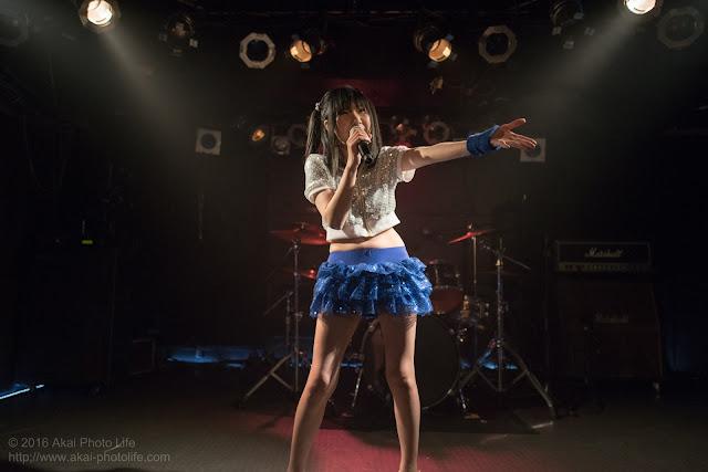 地下アイドル、青島ちか、モルガーナで撮影したライブの写真