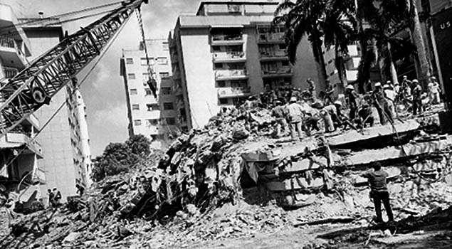 Foto Del Día: Edificio Mijagual, terremoto en Caracas
