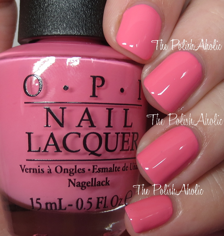 The Polishaholic Opi Summer 2016 Retro Summer Collection Swatches
