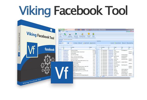 VIKING Facebook Tool v 7 11 2019 - Full Cracked