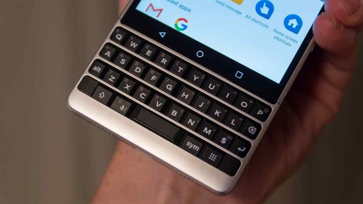 The Blackberry Key2 Keyboard