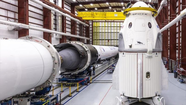 NASA: Primera nave tripulable de Space X está lista para despegue