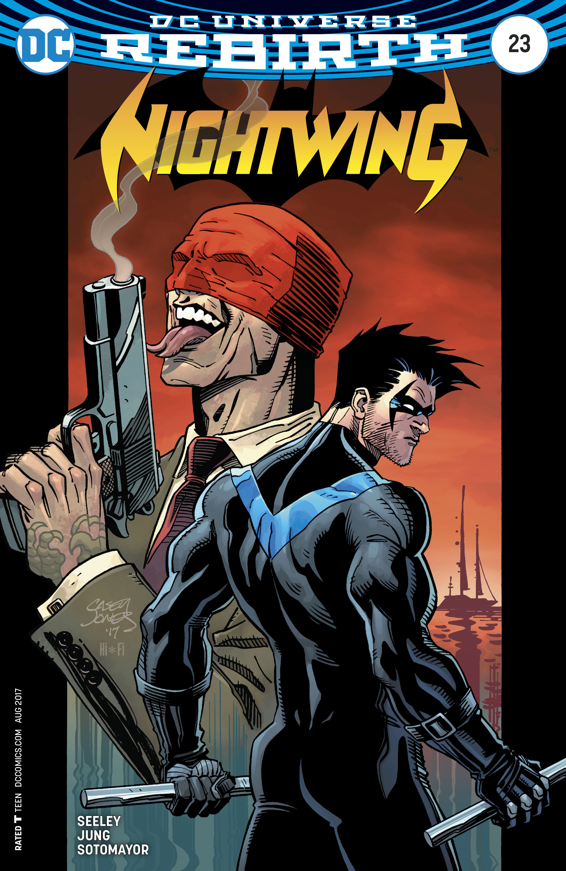 Read online Nightwing (2016) comic -  Issue #23 - 3