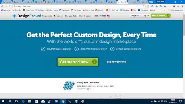 10 situs freelancer desain grafis terbaik