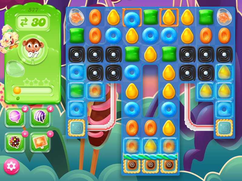 Candy Crush Jelly Saga level 577