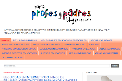 http://paraprofesypadres.blogspot.com.es/p/recursos-primaria.html