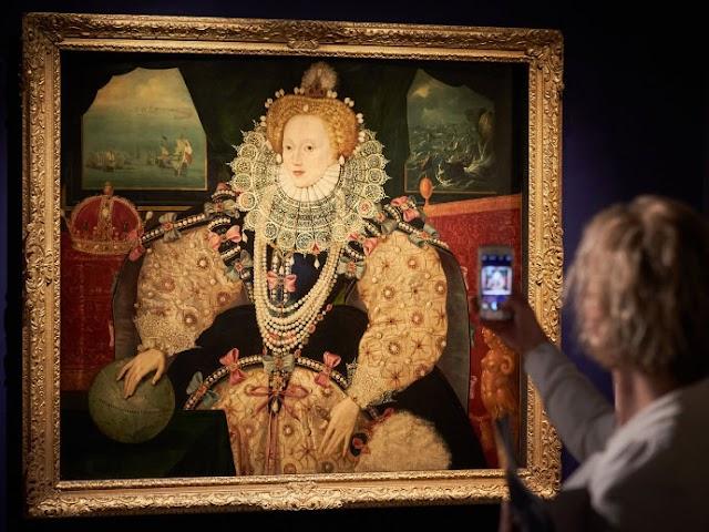 Museus fazem 'vaquinha' para comprar tela de Elizabeth I