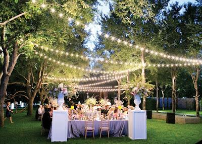 buffet matrimonio in giardino