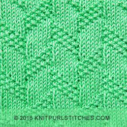 Diagonal Moss Stripe