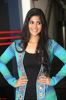 Megha Akash in a beautiful Anarkali dress with Long Jacket at LIE success meet ~  Exclusive Celebrities Galleries 029.JPG