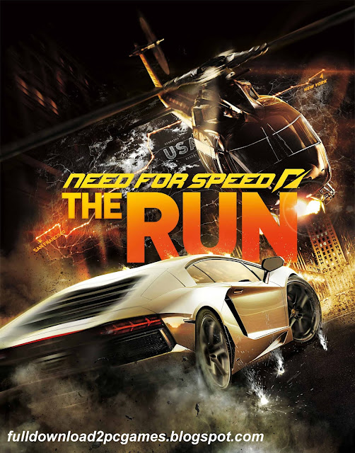 This Is A World Most Popular Racing Video Game Developed By EA Black Box And Published By Need For Speed The Run Free Download PC Game