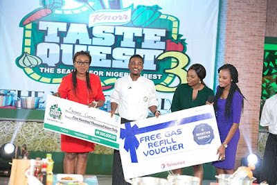 Knorr Taste Quest  season 3 Winners and prizes