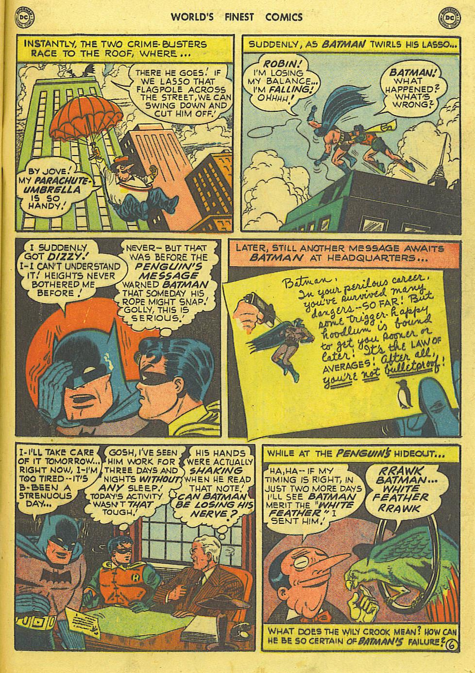 Read online World's Finest Comics comic -  Issue #49 - 68