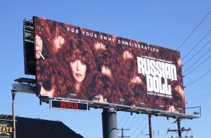 Russian Doll Emmy consideration 2019 billboard