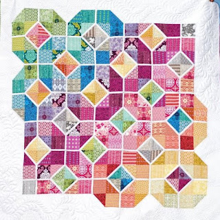 Stained Glass quilts Free pattern Day