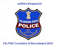 TSLPRB Constable SI Recruitment