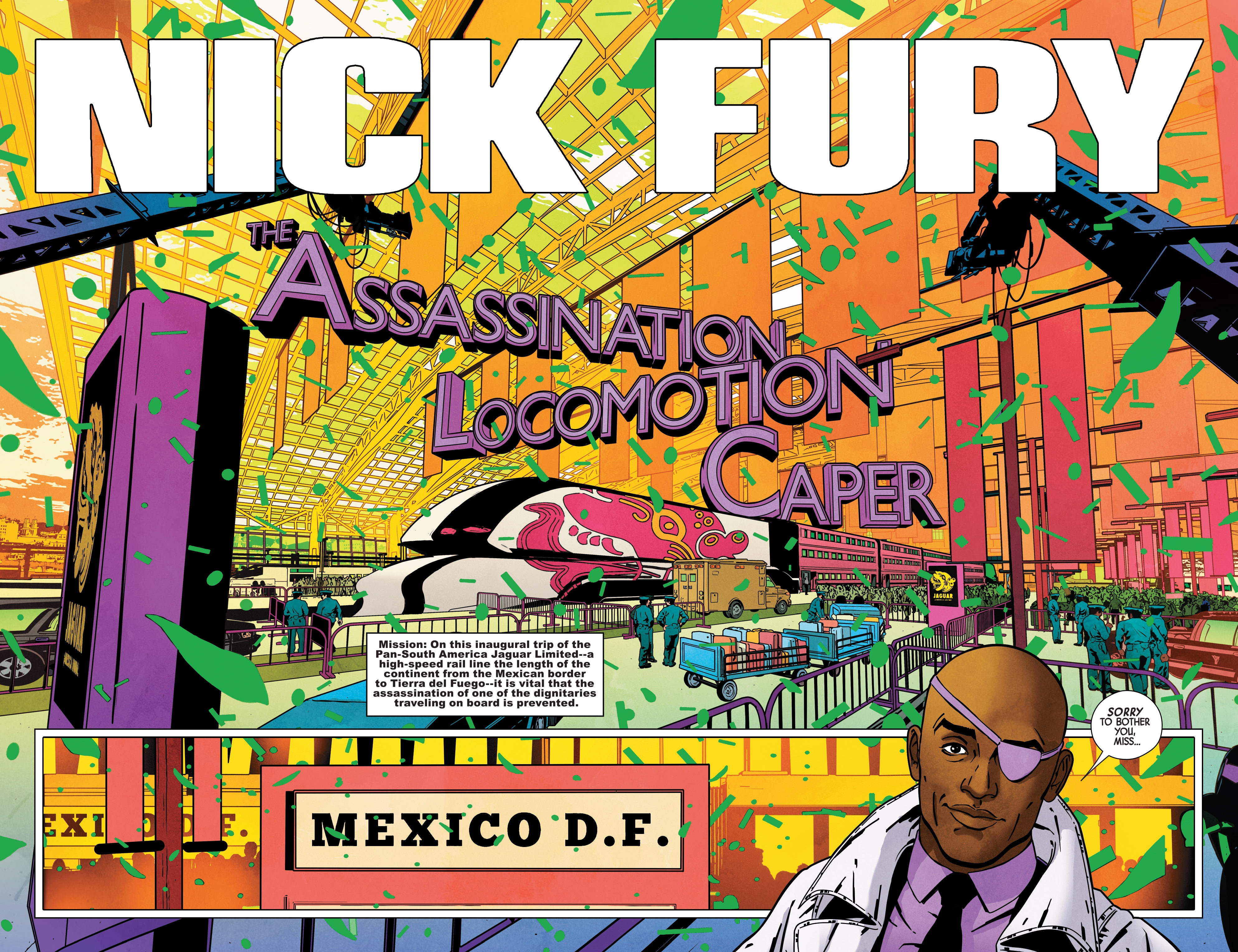 Read online Nick Fury comic -  Issue #3 - 4
