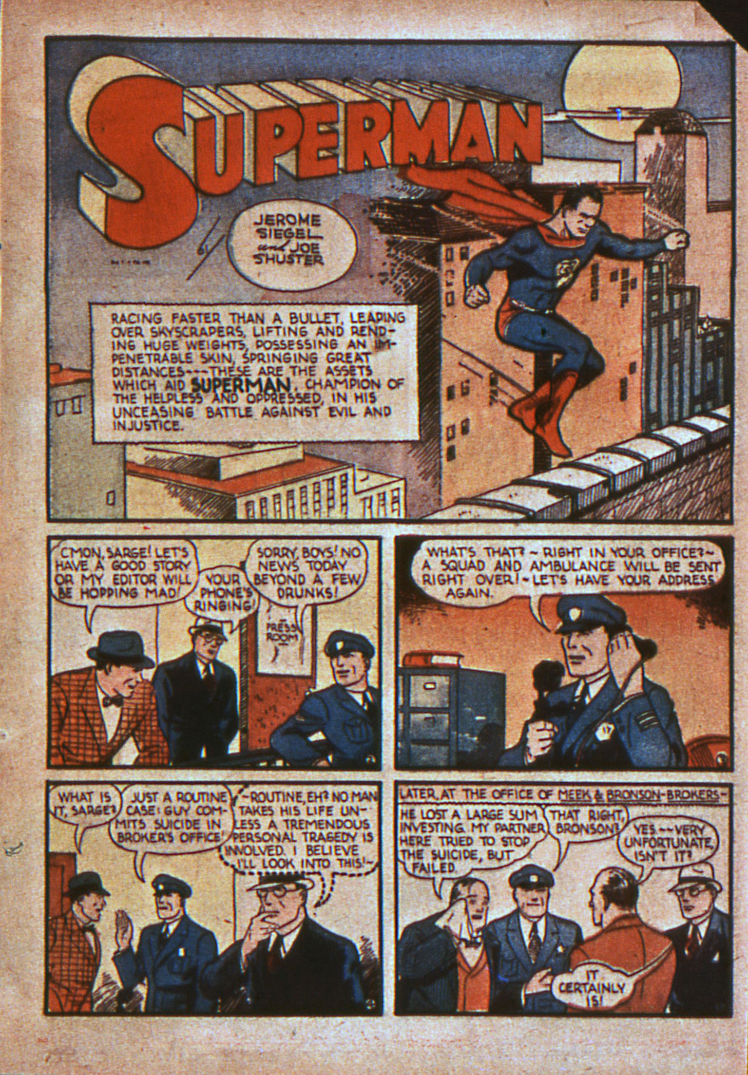 Action Comics (1938) 11 Page 3