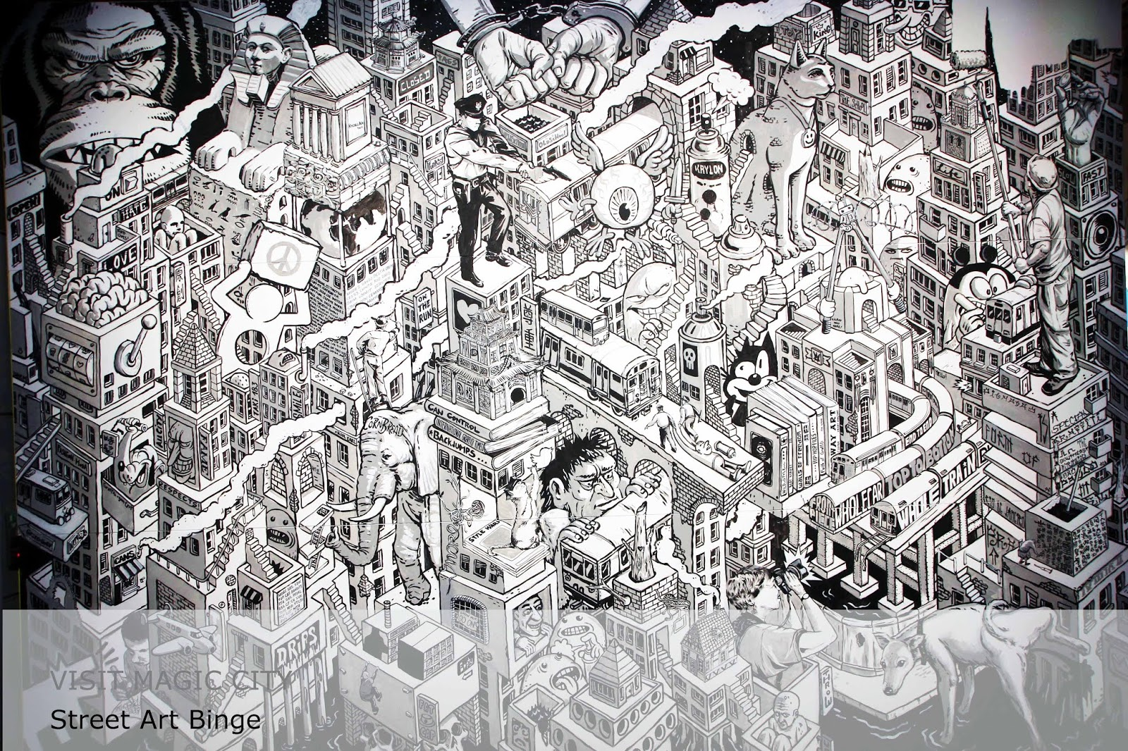 The Touristin Visit Magic City Street Art Binge