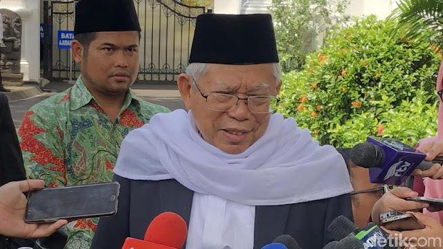 Soal Pembentukan Tim Gabungan, Ma'ruf Amin: Kasus Novel Tergolong Sulit