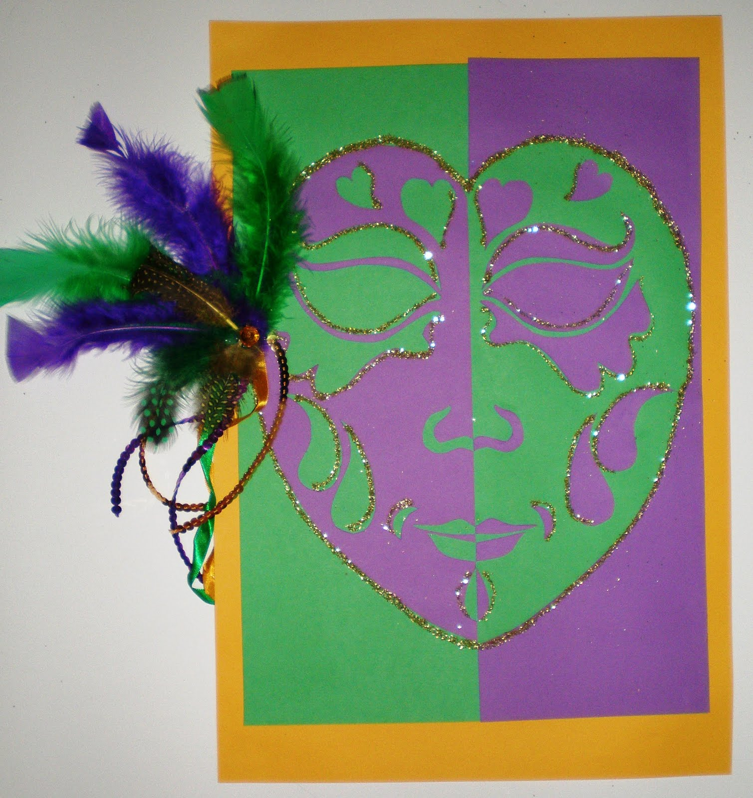 Learn To Teach Teach To Learn Mardi Gras Masks