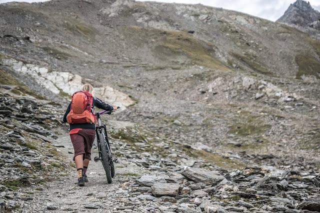 Uphill Mountainbike Bormio Casati Hütte MTB