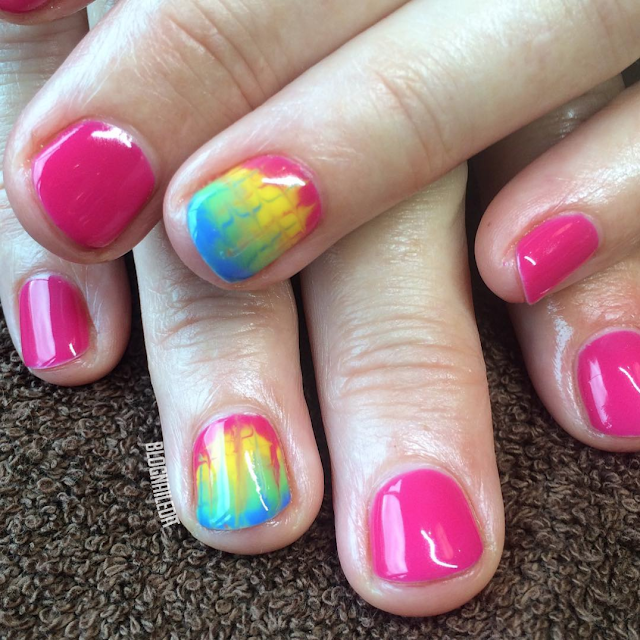 Tie-Dye by Nailed It @ www.blognailedit.co