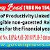 78 days Productivity Linked Bonus (PL-Bonus) for F.Y. 2017-18 to Non-Gazetted Railway Employees