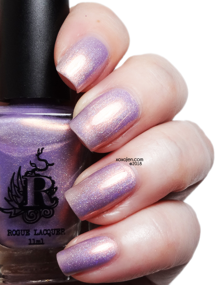 xoxoJen's swatch of Rogue Lacquer Steam Punk Fantasy
