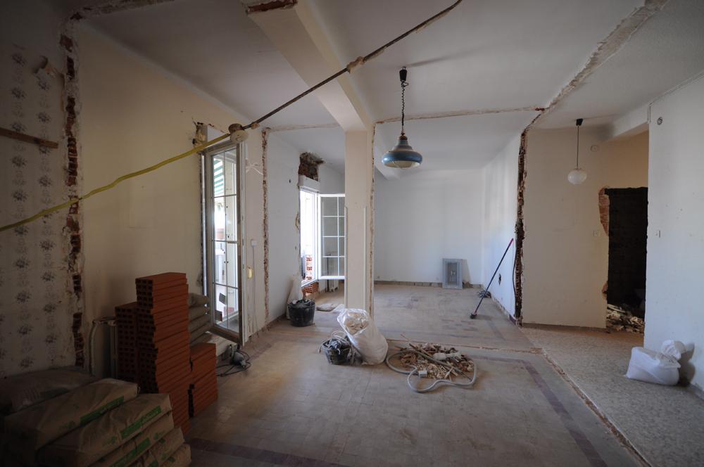 Rehabilitaci n de pisos antiguos - Reforma piso antiguo antes despues ...