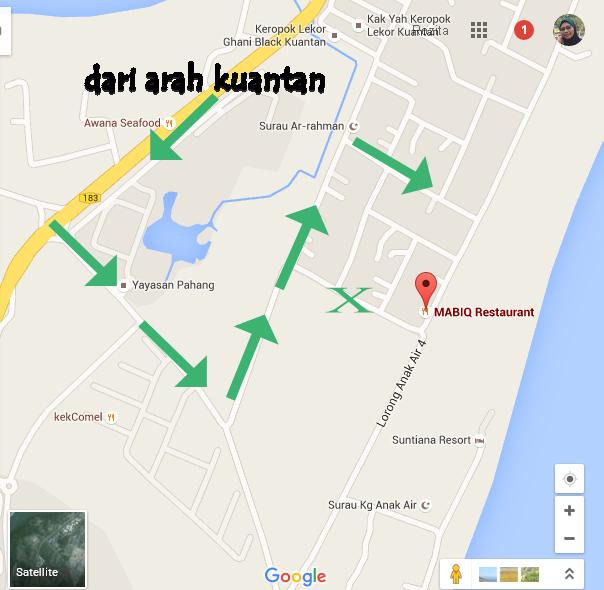 Peta Tanjung Lumpur