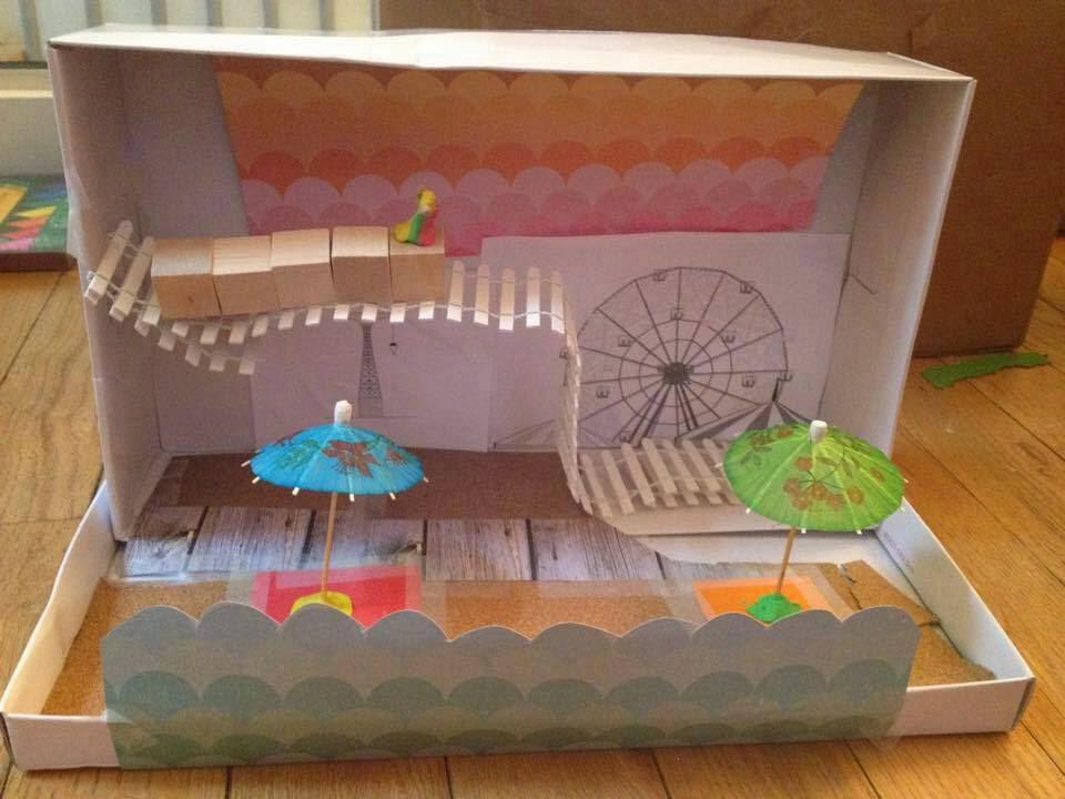Make Your Own Diorama: Cynsations: Guest Post: Tara Altebrando On My Life In Dioramas