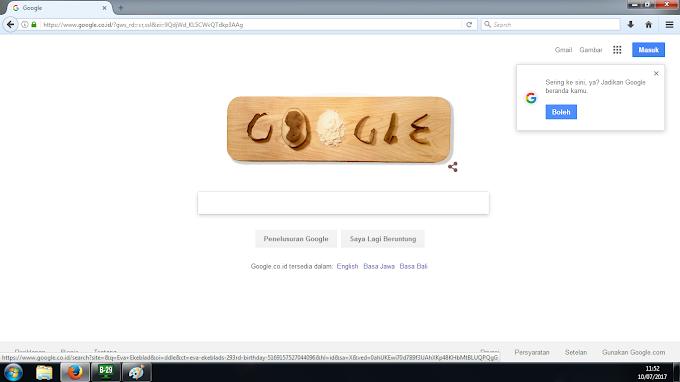 Google Rayakan Kelahiran Eva Ekebald