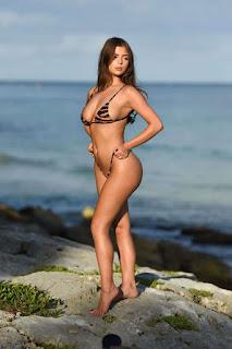 Demi Rose Mawby Poses For A Bikini Photoshoot In Tulum