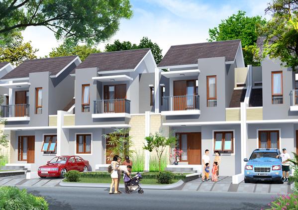 Desain Rumah Cluster 2 Lantai – Rumah Desain Minimalis