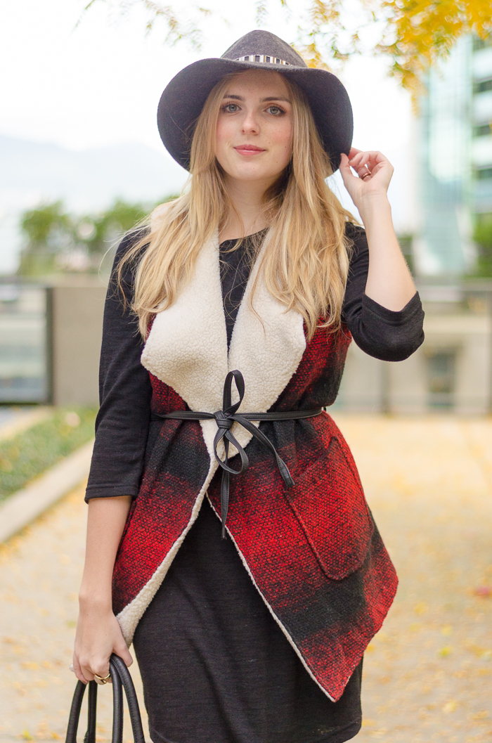 Fall style with Bootlegger vest