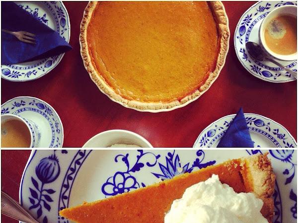 REZEPT: Pumpkin Pie (Kürbis Kuchen)