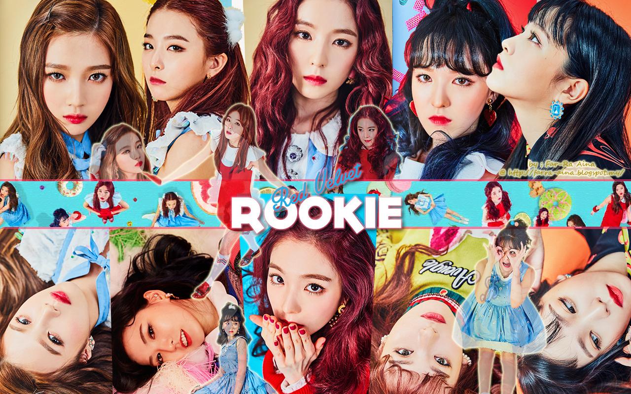 kpop lover red velvet rookie wallpaper